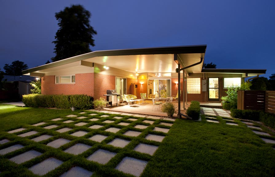 Mid century home styles on pinterest mid century modern for Mid century modern home builders
